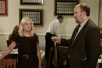 Parks and Recreation -- Leslie and Dave